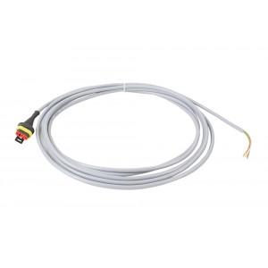 Anschlusskabel 2 m für Sensoren, mit 3-poliger AMP-Buchse an Signalverteiler
