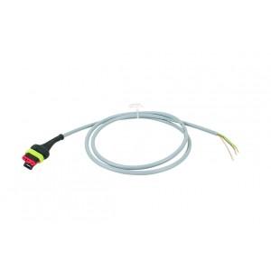 Anschlusskabel 1,10 m für Sensoren, mit 3-poliger AMP-Buchse an Signalverteiler