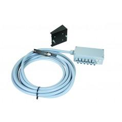 Signalverteiler für SPRAYDOS, 6,5 m Kabel mit 30-poliger Messerleiste für Hydraulik