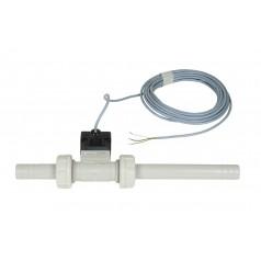 Durchflussmesser (Bürkert) Inline Nennweite 20, 10 bar, 7 m Kabel ohne Stecker 8 - 140 l/min