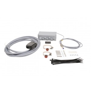 Junction box for machines with a row shutoff system, up to 12 rows, 10 m